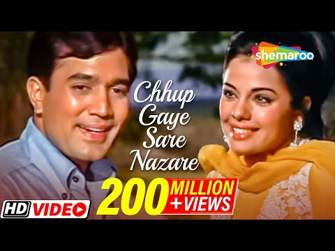 Video Chhup Gaye Sare Nazare - Rajesh Khanna & Mumtaz - Do Raaste - Bollywood Hit Love Songs {HD} download in MP3, 3GP, MP4, WEBM, AVI, FLV January 2017