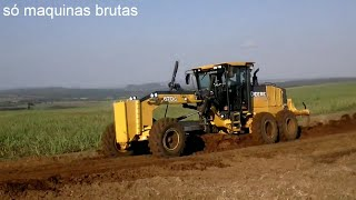 Video Motoniveladora John deere 670G rapando estrada MP3, 3GP, MP4, WEBM, AVI, FLV November 2017