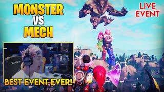 Ninja Reacts To Monster vs Mech Event!!