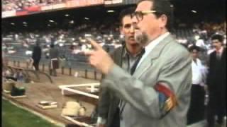 Gary Lineker verabschiedet sich von Barcelona-Fans