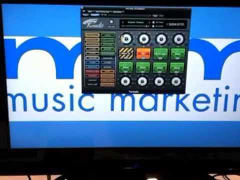 Music Marketing's Tornado at NAMM