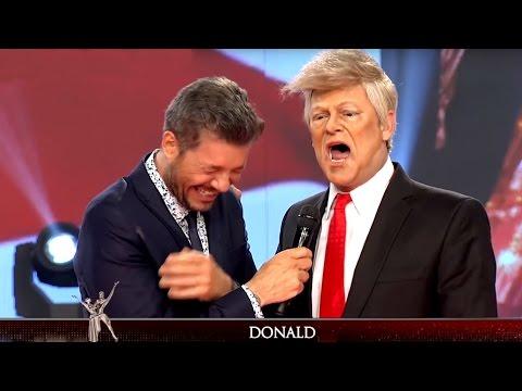 ¡Donald Trump, nuevo presidente de Estados Unidos, visitó Showmatch!