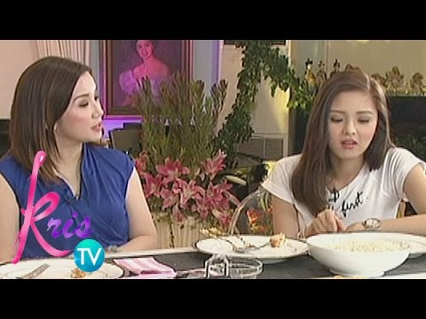 Kris TV: Kim, Claudine and Kris share their healthy eating habits