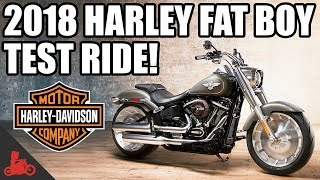 10. 2018 Harley-Davidson Fat Boy 114 Test Ride!