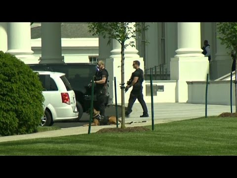 Secret Service guns down armed man outside White House