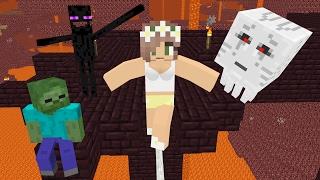 Nonton Monster School  Slackline Challenge   Minecraft Animation Film Subtitle Indonesia Streaming Movie Download