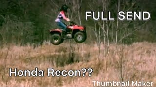 6. Most Underrated Quad? Honda Recon 250