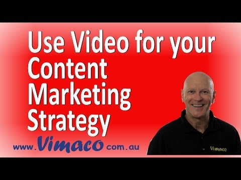 Use Video for your Content Marketing Strategy