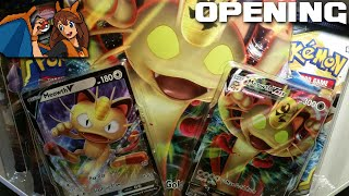 SUCH GOOD ART - Opening a Meowth V-Max Special Collection Box of Pokemon Cards! by Flammable Lizard