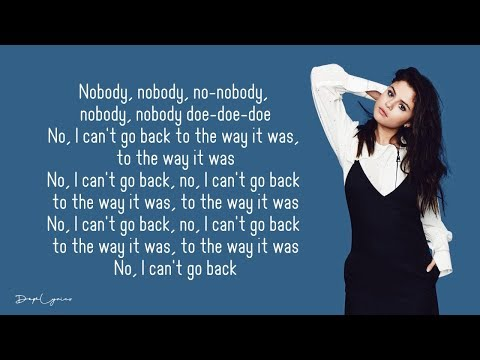 Nobody Does It Like You - Selena Gomez (Lyrics) 🎵