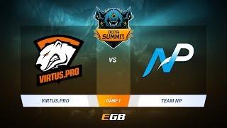 Virtus.Pro vs Team NP, Game 1, DOTA Summit 7 LAN-Final, Day 4