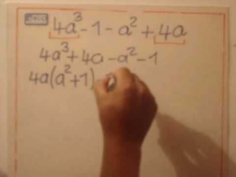 Vídeos Educativos.,Vídeos:Extraer factor común