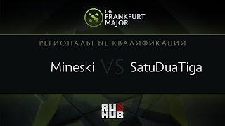 Mineski vs SatuDuaTiga, game 1