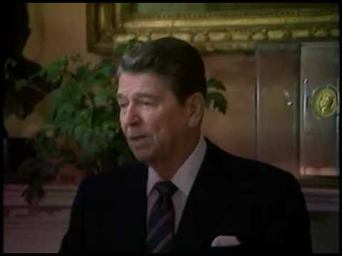 President Reagan's Remarks to Press on Explosion of the Space Shuttle Challenger on January 28, 1986