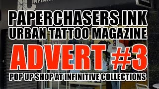 WATCH: POPUP @ INFINITIVE COLLECTIONS ADVERT