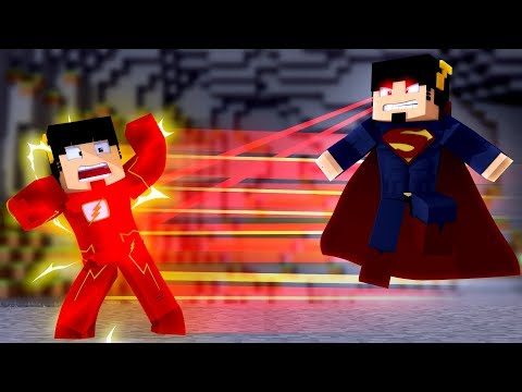 Chipart - Minecraft: ORESPAWN - FLASH VS SUPERMAN Ep.4 ‹ AMENIC ›