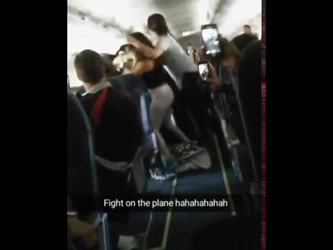 5 Women brawl on board Spirit Airlines Flight From Baltimore To Los Angeles