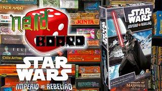 Mazaah Pessoal ! ! ! Vamos conhecer hoje Star Wars Império Vs Rebelião, um jogo de muita estratégia para dois jogadores, será q a força esta do seu lado ? Co...