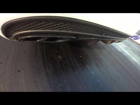 Mercedes-Benz C450 AMG Stock Exhaust Sport Plus