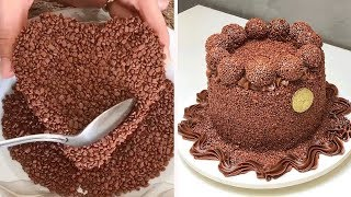 DIY Chocolate Cake Decorating Tutorial | Yummy Cake Recipe | Easy Cake Decorating Ideas