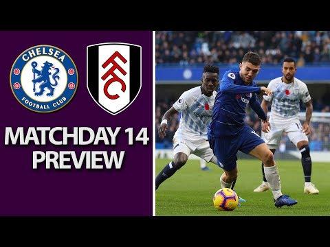 Video: Chelsea v. Fulham I PREMIER LEAGUE MATCH PREVIEW I 12/2/18 I NBC Sports