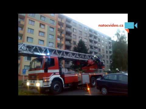 Požár v Ústí nad Labem