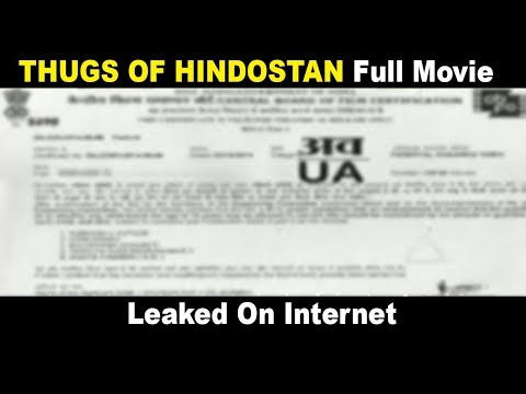 Thugs Of Hindostan Full Movie HD Leaked On The Internet | Aamir Khan | Amitabh Bachchan