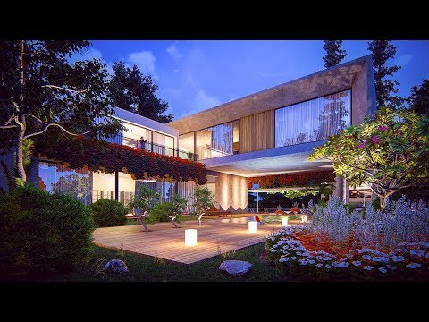 LUMION 8 RENDERING TUTORIALS #3 HOUSE IN THE FOREST