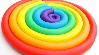 Play Doh Ice Cream Popsicles Learn Colors Dohvinci Play Doh Sl...