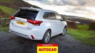 Promoted   Mitsubishi Outlander PHEV: Lake To Peak   Autocar by Autocar