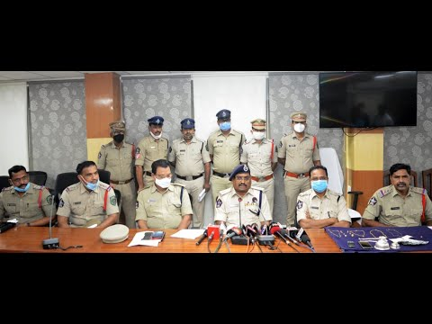 Night Robbery People Arrested in Visakhapatnam,Vizagvision