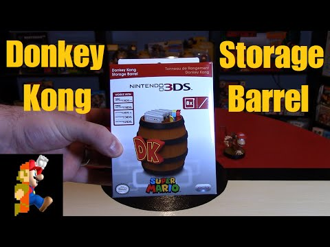 Donkey Kong Storage Barrel for 3DS | Nintendo Collecting
