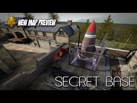 "BlackShot Global New Map Preview — ""Secret Base"""
