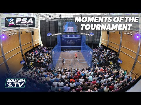 Squash: Canary Wharf Classic 2020 - Moments of the Tournament