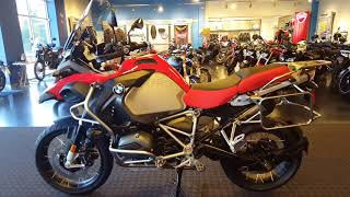 7. 2018 BMW R1200GSA Low with new Color TFT display @ Frontline Eurosports !!!
