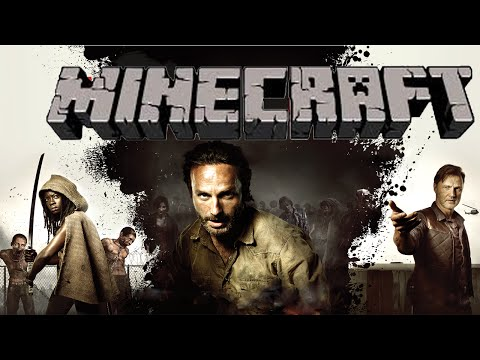 Minecraft Walking Dead Minigame – (Crafting Dead Server)