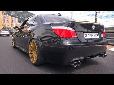 BMW M5 E60 V10 Hartge – Loud Revs & Accelerations!