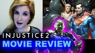 Injustice 2 REVIEW - Cutscenes Movie aka Story Mode by Beyond The Trailer