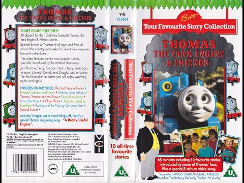 Thomas The Tank Engine and Friends: Your Favourite Story Collection (1995 UK VHS)