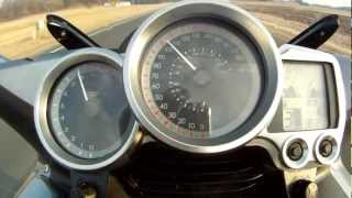 3. Yamaha FJR Top Speed Run