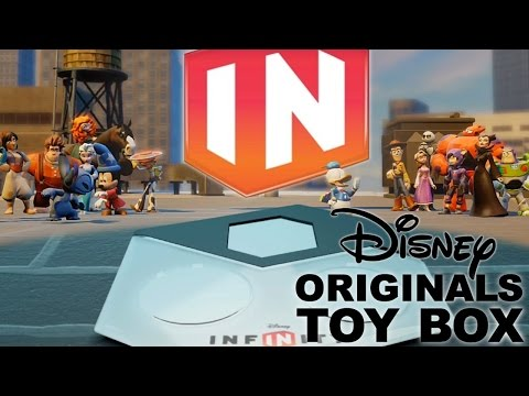 box - While Marvel's Superheroes might be stealing all the Disney Infinity 2.0 headlines, it won't be long until the focus shifts to the Disney Originals characters. On November 4th, the Disney Infinty...