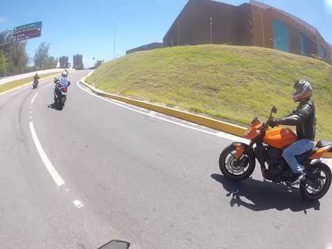 Grupo K 04/08 - Passando pelo Tunel do Centro de Eventos (видео)