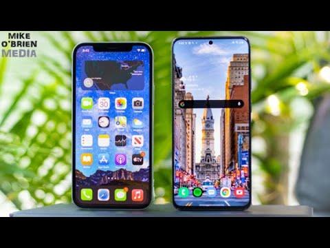 NEW iPhone 12 vs Samsung Galaxy S20