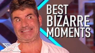Video BRILLIANTLY BIZARRE Auditions on X Factor UK! | X Factor Global MP3, 3GP, MP4, WEBM, AVI, FLV Maret 2019
