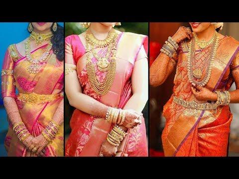 Video 2018 Wedding Saree Collection | Kanchipuram Sarees | Kanjivaram Silk | Kanchi Pattu Sarees download in MP3, 3GP, MP4, WEBM, AVI, FLV January 2017