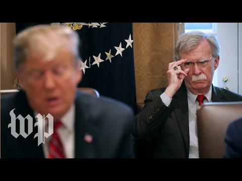 How clashes with Trump led to John Bolton's firing