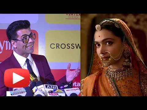 Karan Johar REACTS On Padmaavat PADMAVATI Supreme