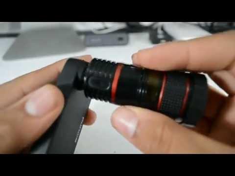 عدسات احترافية لهاتف الآيفون لمسافة تقريب 50 مترا - فيديو