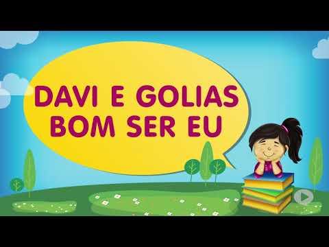 Davi e Golias, Bom ser Eu | Cantinho da Criança com a Tia Érika