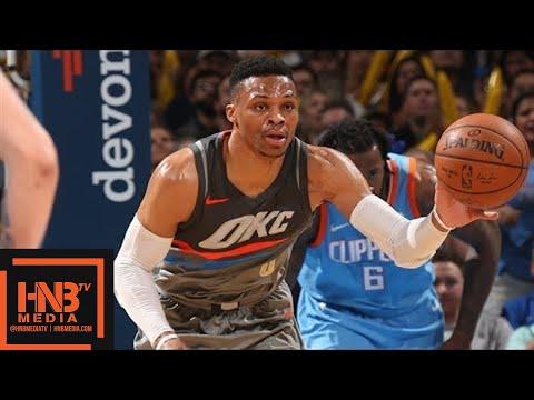 Oklahoma City Thunder vs LA Clippers Full Game Highlights / March 16 / 2017-18 NBA Season (видео)
